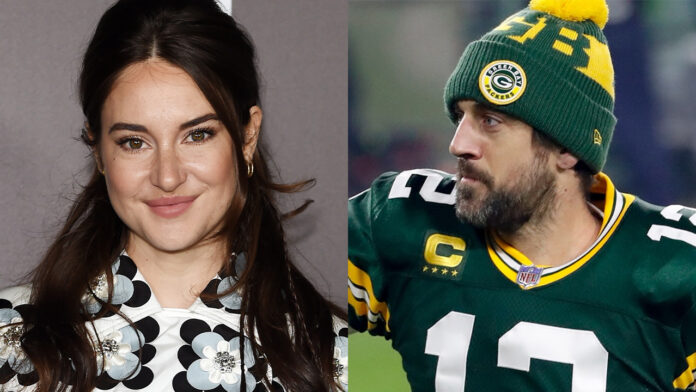 Shailene Woodley says fiancé Aaron Rodgers is teaching her about football: 'It is a whole new world'