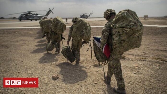 UK military not defeated in Afghanistan, says head of British armed forces
