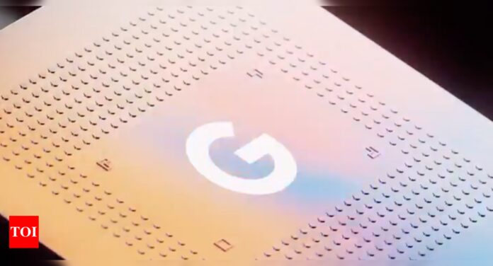 Google launches its own Tensor chipset to power Pixel 6 phones - Times of India
