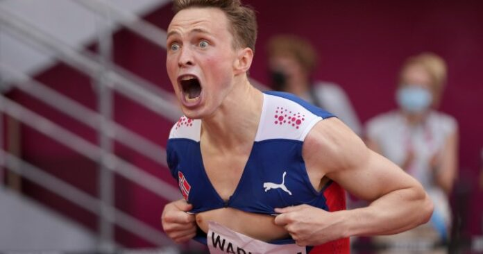 Norway's Warholm smashes his own world record in Tokyo Olympics 400m hurdles final - National | Globalnews.ca