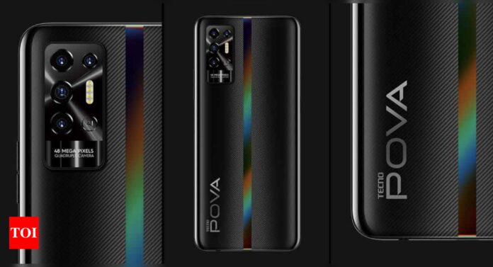 Tecno Pova 2 with 7000mAh battery, 6.9-inch FHD+ display launched in India: Price, availability and more - Times of India