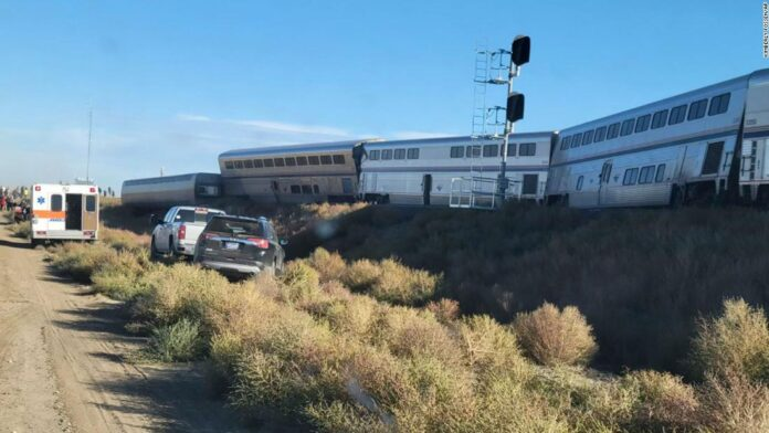 Amtrak train derails in remote part of Montana, killing at least 3 people