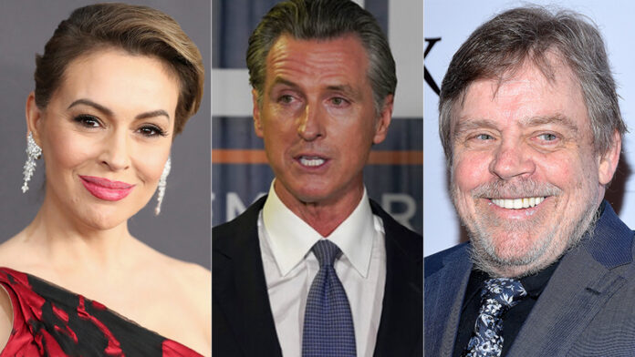 Celebrities react to Gov. Gavin Newsom's victory in his recall election