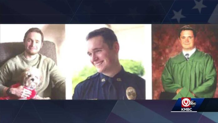 Police officers, community come together as fallen Independence officer laid to rest