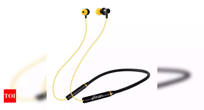 Amazon sale: Bluetooth earphones with neckband design available at up to 82% discount - Times of India