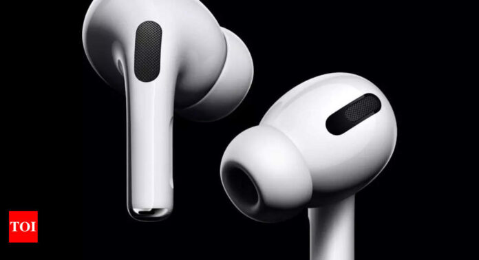 Apple may add a 'thermometer' inside the AirPods - Times of India