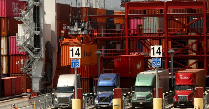 Biden will announce expanded operations at Port of Los Angeles as supply chain crunch continues