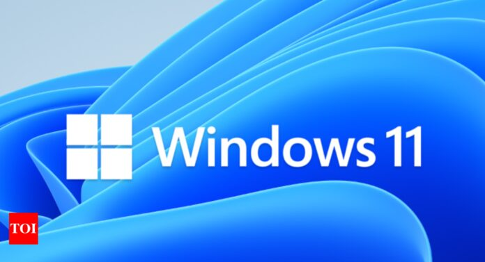 Microsoft rolls out first Windows 11 update a week after its launch - Times of India