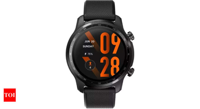 Mobvoi TicWatch 3 Pro Ultra smartwatch launched with dual display and Snapdragon Wear 4100 platform - Times of India
