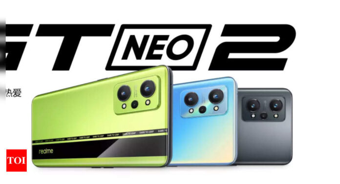 Realme to launch GT Neo2, Buds Air 2 and more at an event today at 12.30 pm: What to expect - Times of India