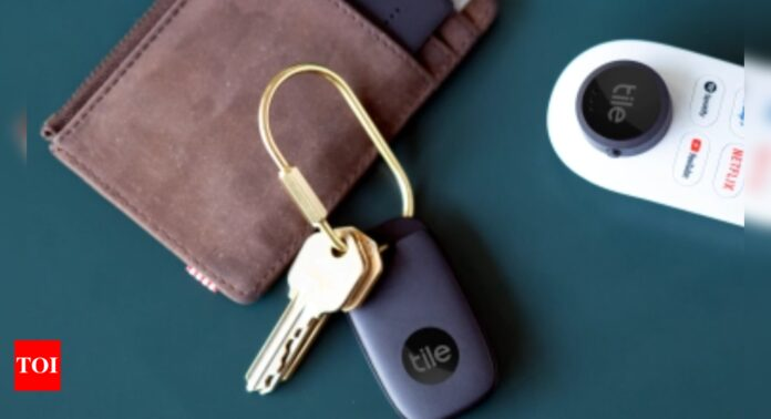 Tile to take on AirTags with its new UWB-based tracking device - Times of India